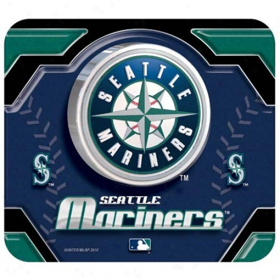 Seattle Mariners Team Logo Neoprenne Mousepad