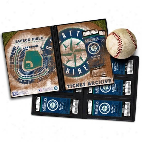 Seattle Mariners Ticket Archive Book