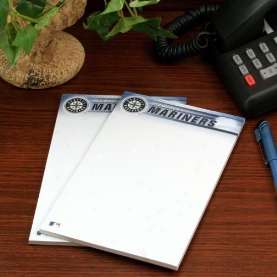 Seattle Mariners Two-pack 5'' X 8'' Team Logo Notepads