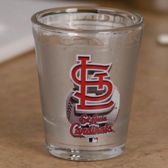 St. Louis Cardinals 2 Oz. Enhanced High Definition Shot Glass