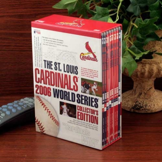 St. Louos Cardinals 2006 World Series Collector's Edition 8-disc Dvd Set