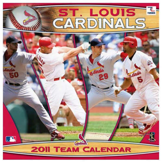 St. Louis Cardinals 2011 Wall Calendar