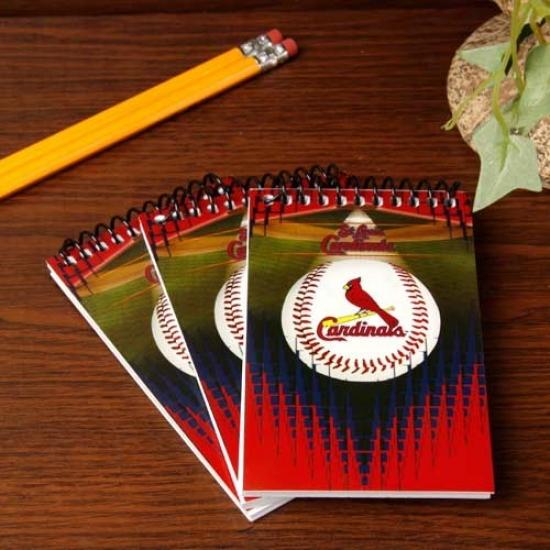 St. Louis Cardinals 3-pack Team Memo Pads