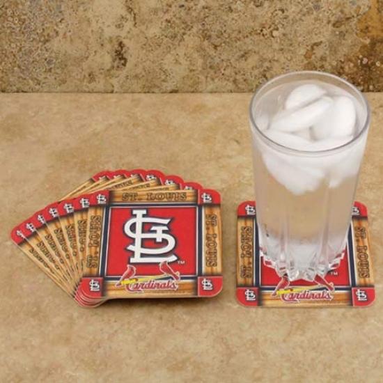 St. Louis Cardinals 8-pack Absorbent Paperkraft Coasters