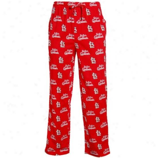 St. Louis Cardinals Cardinal T2 Pajama Pants