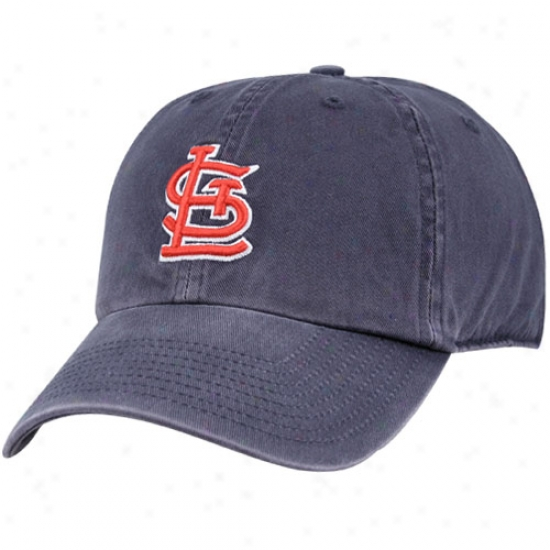 St. Louis Cardinals Gear: St. Louis Cardinals Blue Franchise Fittrd Hat