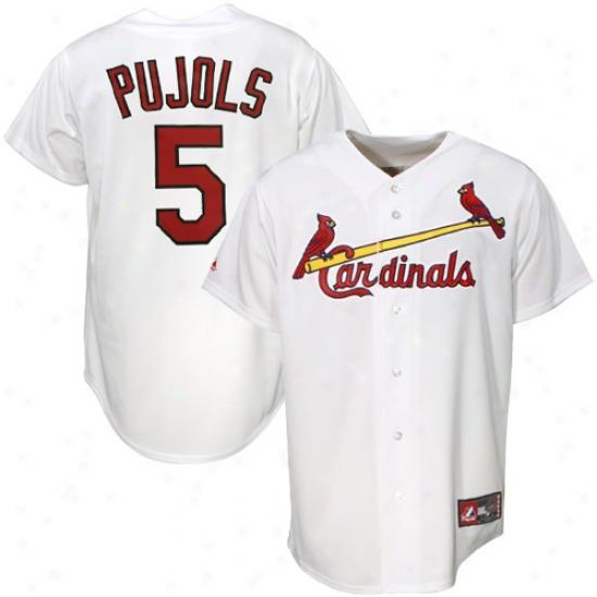 St. Louis Cardinals Jersey : Majestic St. Louis Cardinals #5 Albert Pujols Pure Replica Jersey