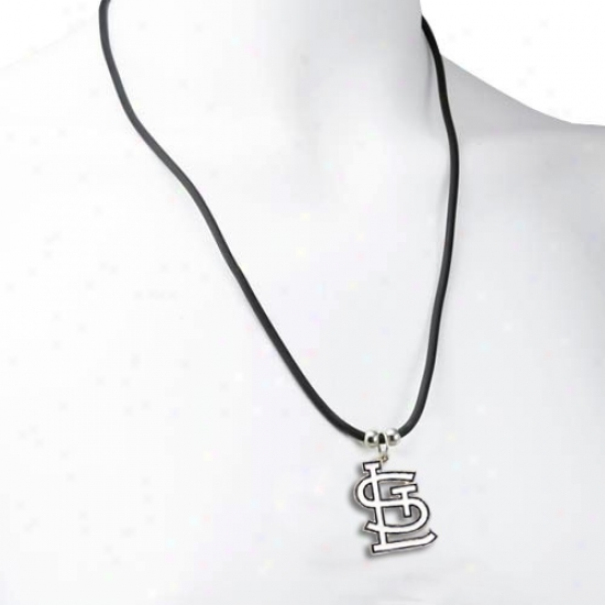 St Louis Cardinals Logo Pendant Necklace