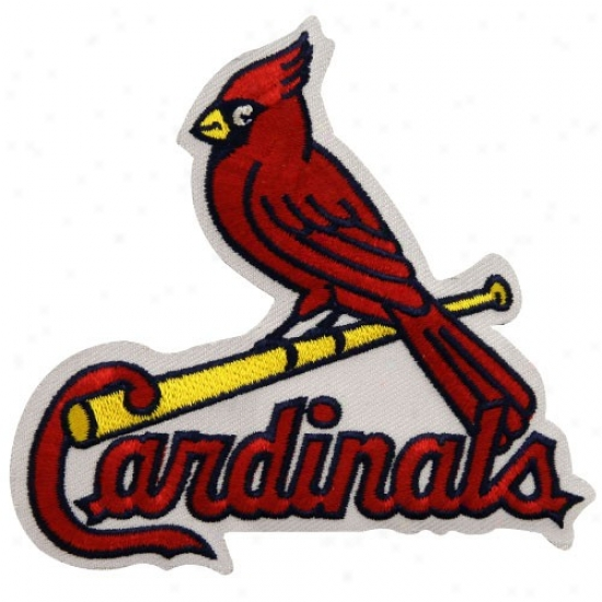 St Louis Cardinals Primary Logo Embroidered Collector Patch
