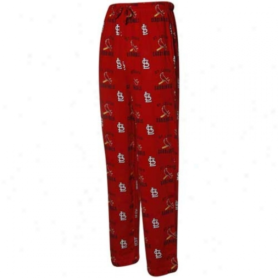 St. Louis Cardinals Red Maverick Pajama Pants