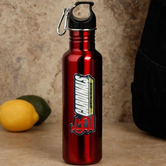 St. Louis Cardinals Red Stainless Steel Water Bottle