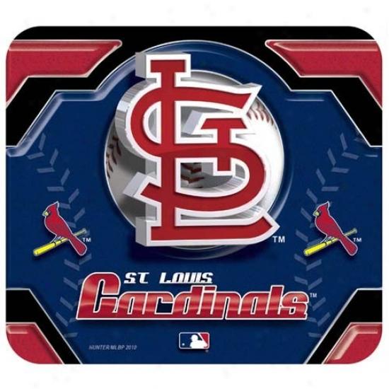St. Louis Cardinals Team Logo Neoprene Mousepad