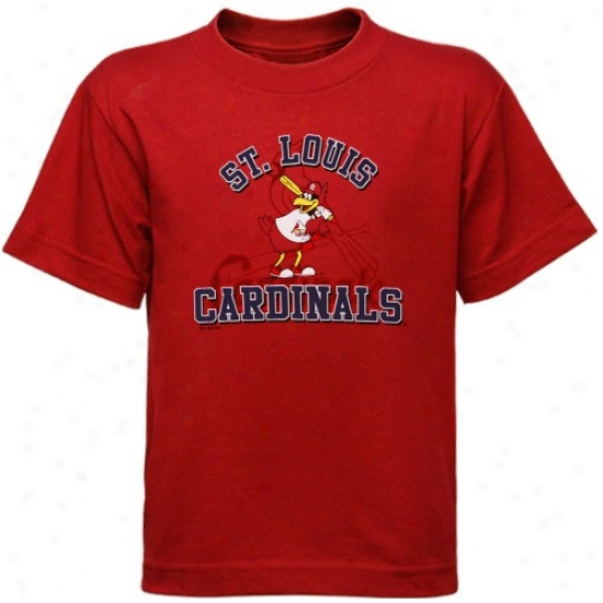 St. Louis Cardinals Tee : Nike St Louis Cardinals Toddler Red Mascot Tee