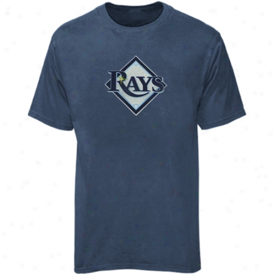 Tampa Desperation Rays Alparel: Majestic Tampa Bay Rays Heather Blue Big Time Play T-shirt