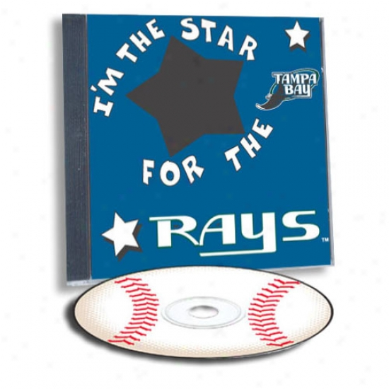 Tampa Bay Rays Game Hero Custom Sports Cd