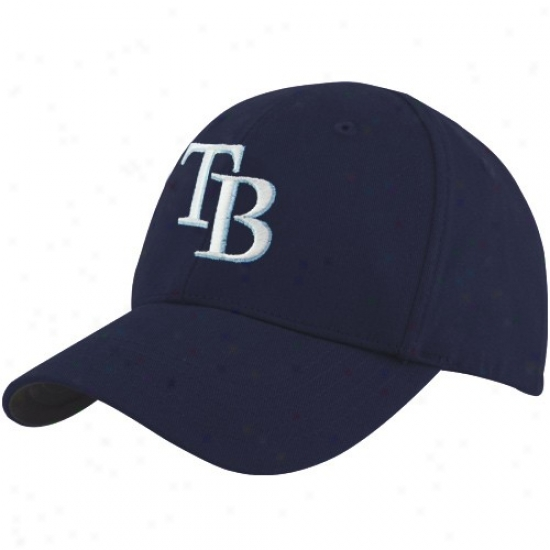 Tampa Bay Rays Gear: Twins '47 Tampa Bay Rays Infant Navy Blue Basic Logo Adjustable Hat