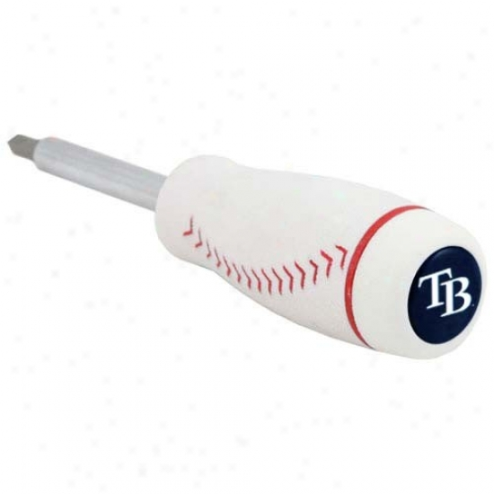 Tampa Bay Rays Pro-grip Baseball Screadriver And Drill Bits