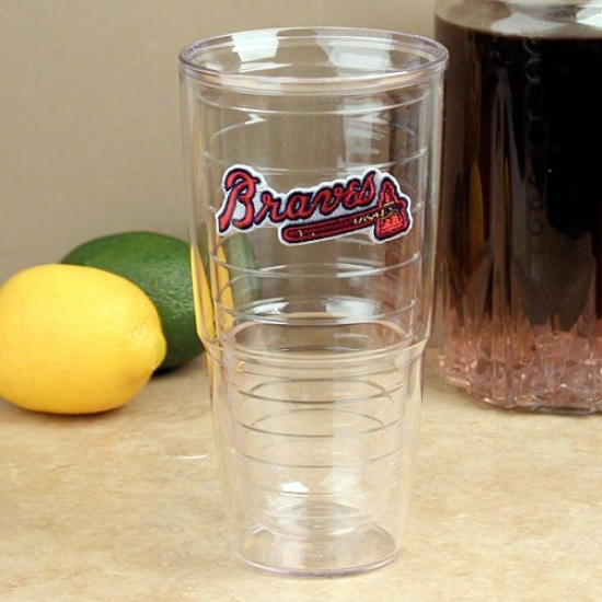 Tervis Tumbler Atlanta Braves 24oz. Team Wordmark Tumbler Cup