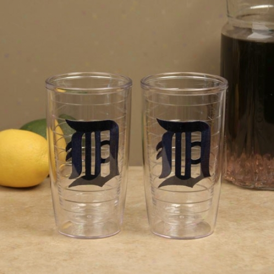 Tervis Tumbler Detroit Tigers 2-pack 16oz. Team Logo Tumbler Cups