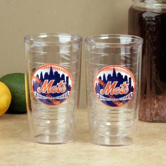 Tervis Tumbler New York Mets 2-pack 16oz. Team Logo Tumbler Cups