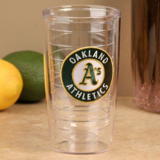 Tervis Tumbler Oakland Athletics 16oz. Team Logo Acrobat Cup