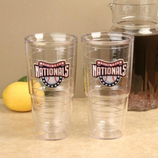 Tervis Tumbler Washington Nationals 2-pack 24oz. Team Wordmari Tumbler Cups