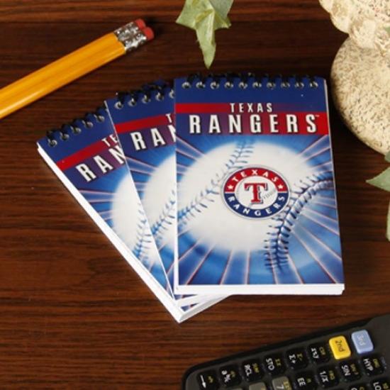 Texas Rangers 3-pack Team Memo Pads