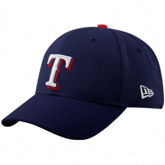 Texas Rangers Cap : New Era Texas Rangers Youth Royal Blue Pinch Hitter Aduustable Cap