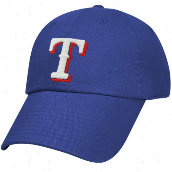 Texas Rangers Hats : Nike Texas Rangers Royal Blue Relaxed Adjustable Hats