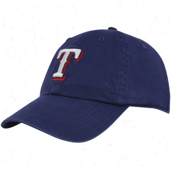 Texas Rangers Hats : Twins '47 Texas Rangers Royal Blue Clean Up Adjustable Hats