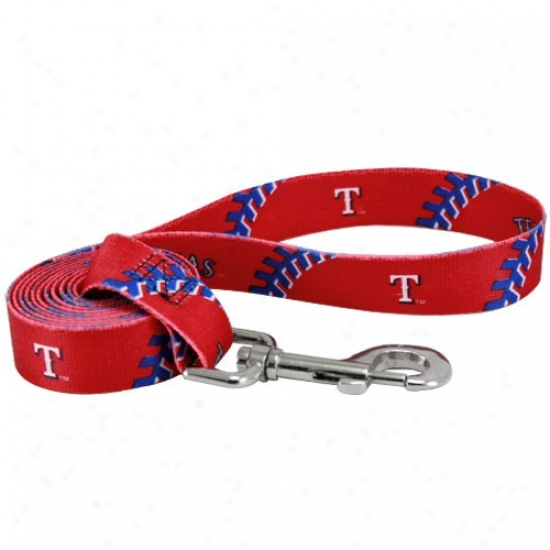 Texas Rangers Red 6' Pet Three