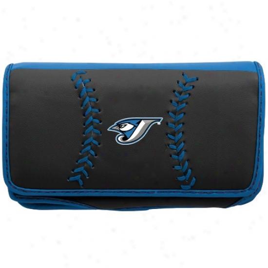 Toronto Blue Jays Black Universal Smartphone Case