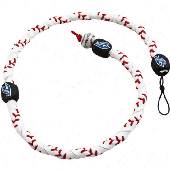 Toronto Azure Jays Frozen Rope Baseball Necklace