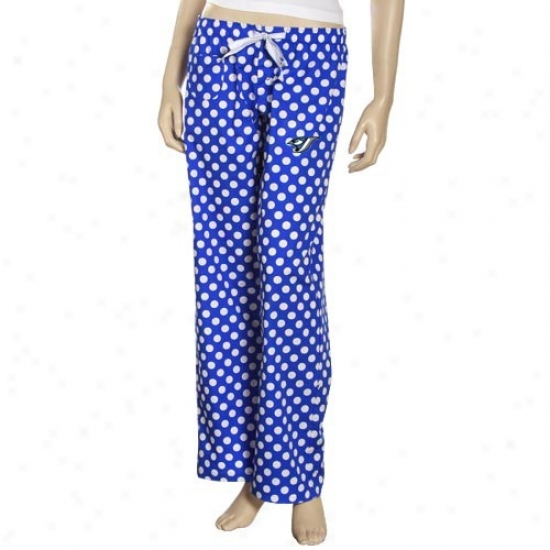 Toronto Blue Jays Ladies Royal Blue Galaxy Pajama Pants