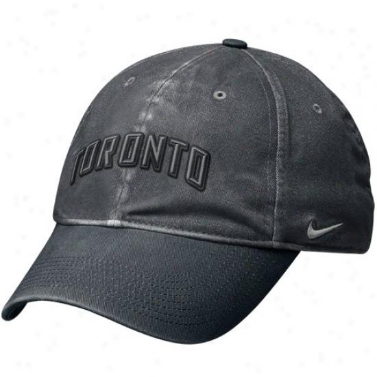 Toronto Blue Jays Merchandise: Nlke Toronto Blue Jas Graphite Legacy 91 Circus Catch Flex Fit Hat