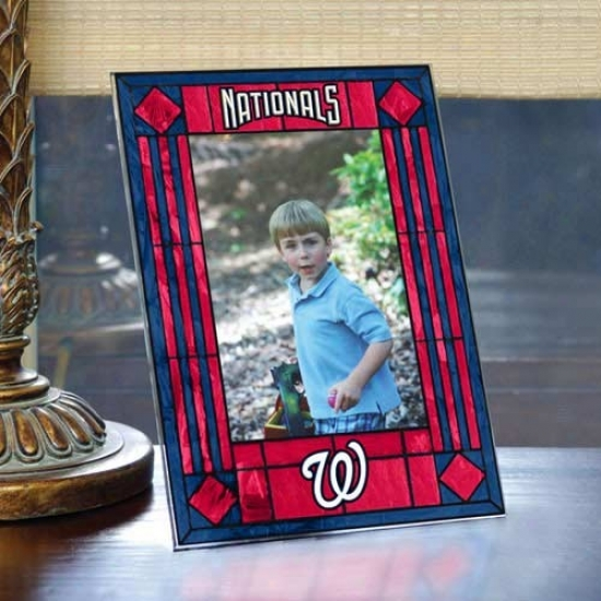 Washington Nationals Ar5-glass Picture Frame