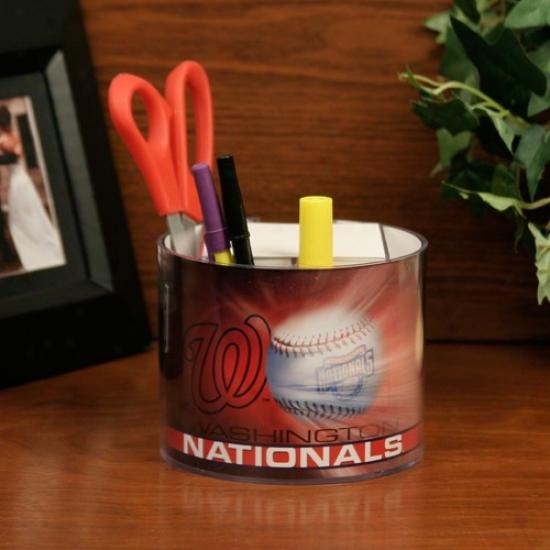 Washington Nationals Baseball Graphic Paper & Desk Caddy