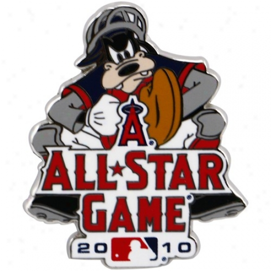 Washington Nationals Hat : 2010 Mlb All-star Game Goofy Catcher Disney Collectible Trading Pin