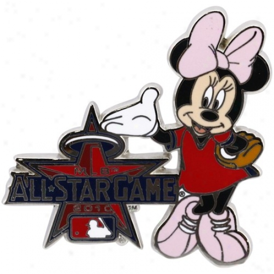 Washinggtoh Nationals Hat : 2010 Mlb All-star Game Minnie Mouse Disney Collectible Trading Pin