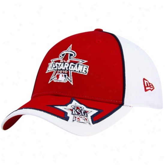 Washinbton Nationals Hat : Novel Era Mlb 2010 All-star Game Red-white Adjustable Cardinal's office