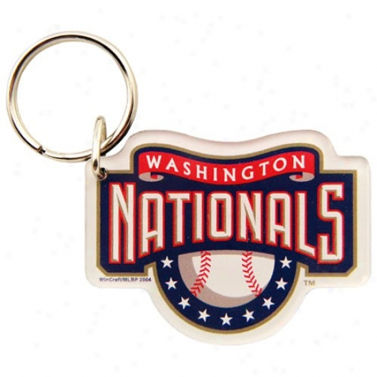 Washington Nationals High Definition Keychain