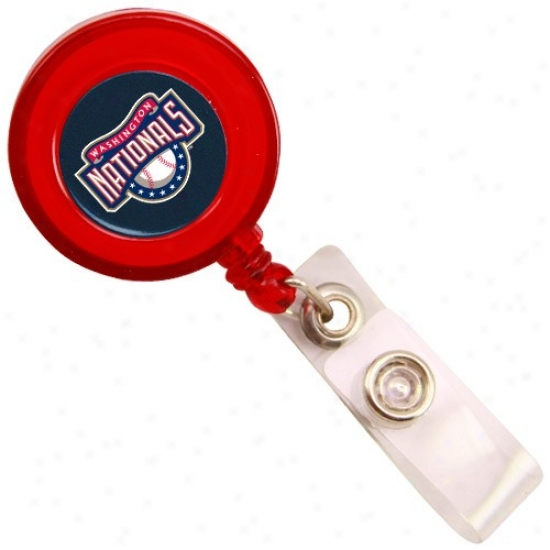 Washington Nationals Red Badge Reel