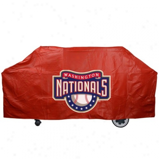 Washington Nationals Red Grill Cover