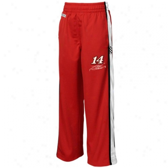 #14 Tony Stewart Youth Red Speedway Track Side Pants