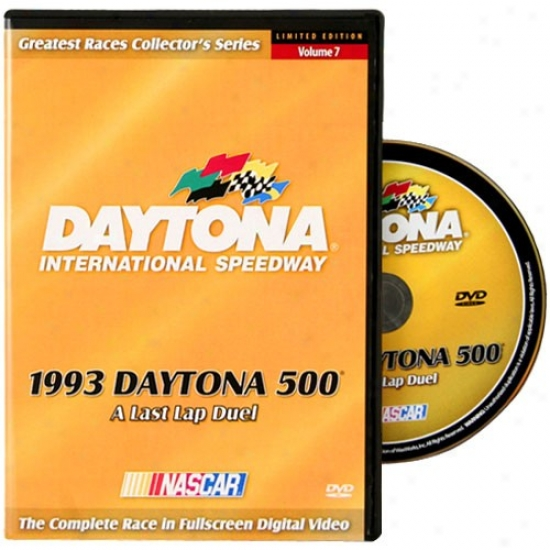 1993 Daytona 500 A Last Lap Duel Dvd