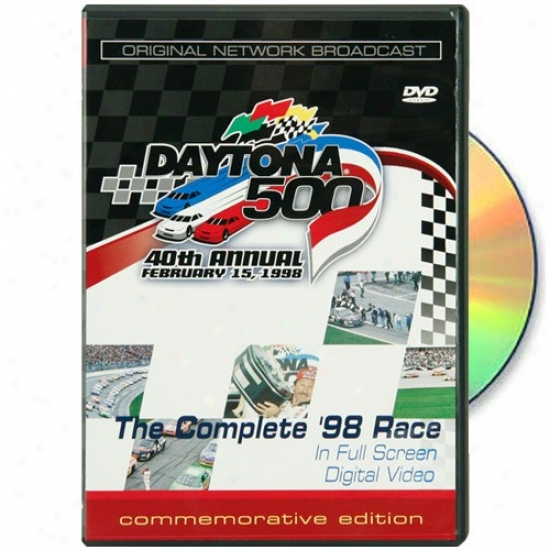 1998 Daytona 500 40th Annual Dvd