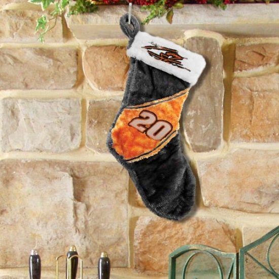 #20 Tony Stewart Colorblock Plush Stocking