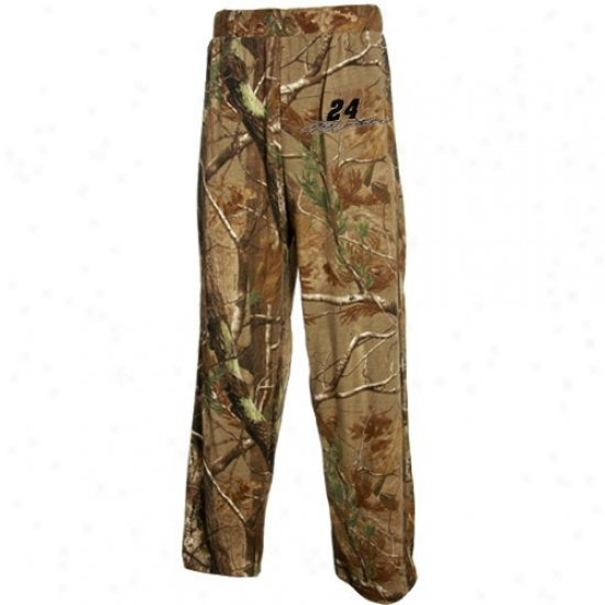 #24 Jeff Gordon Camo Realtree Lounge Pants