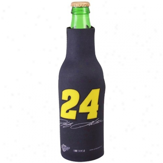 #24 Jeff Gordon Navy Blue Bottle Coolie
