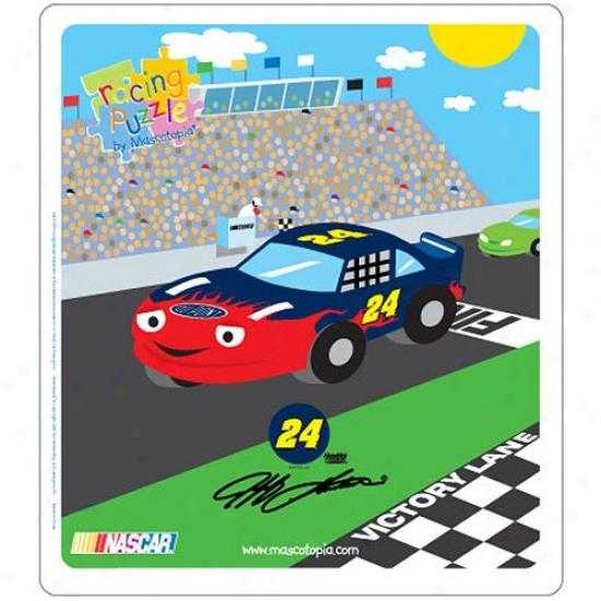 #24 Jeff Gordon Racing Puzzle